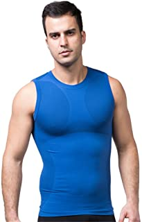 FitnessSun - Mens Quick Dry Tights Undershirt - Compression Base Layer - Body Shaper Sports Muscle Tank Top