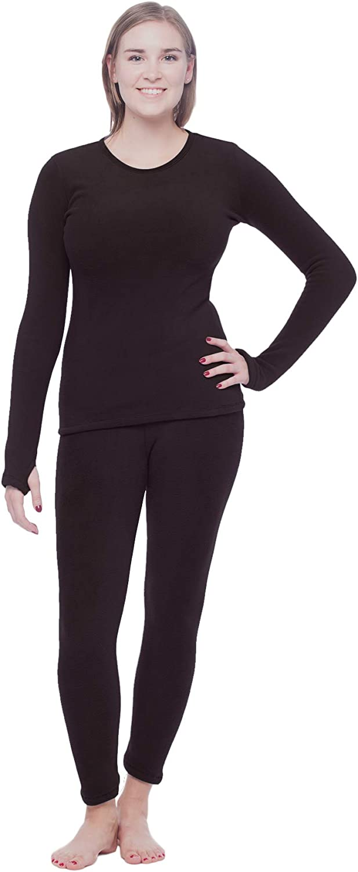 Women's Winter Fleece Thermal Layering Set