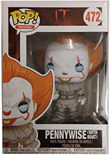 Funko Pop IT-Pennywise with Boat Collectible Figure