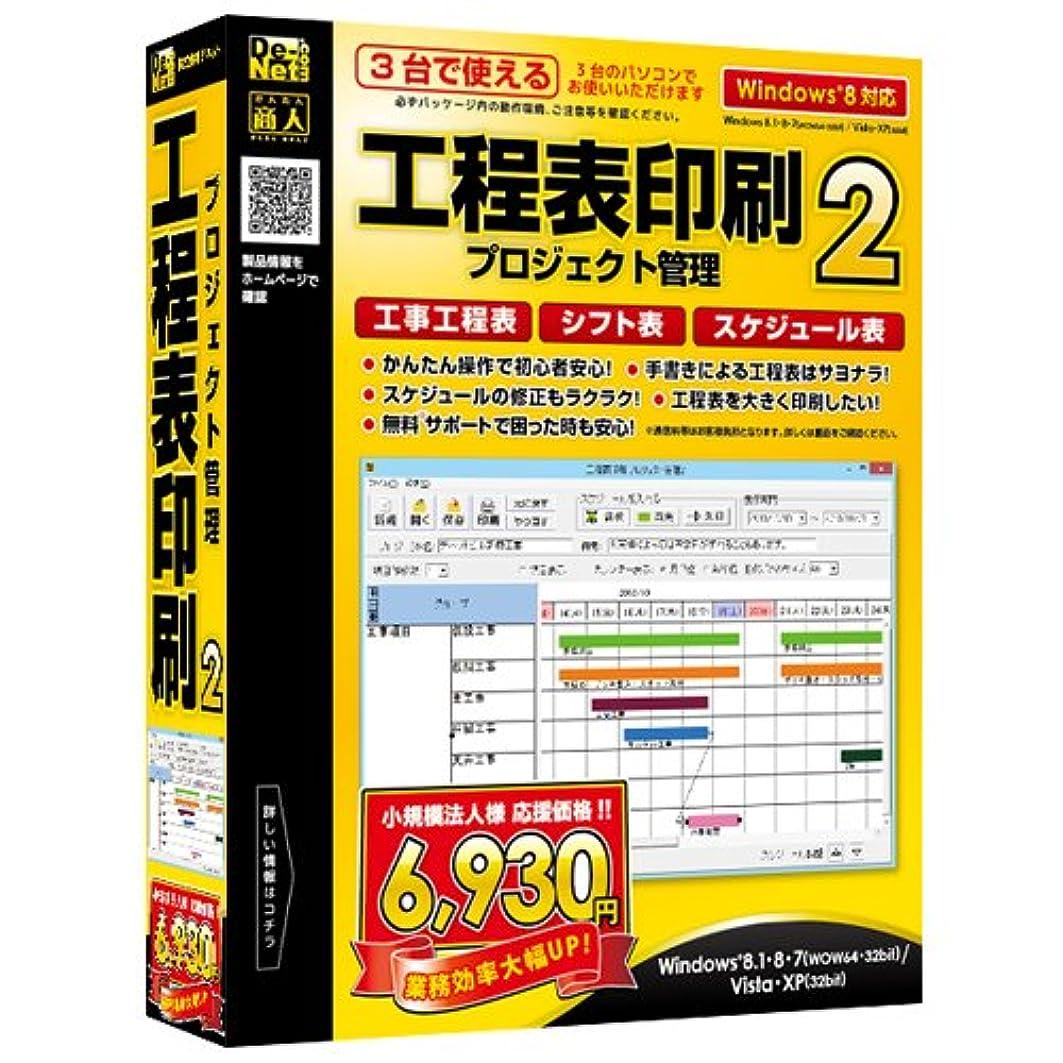 ノイズ凝視コンサルタント工程表印刷 プロジェクト管理2