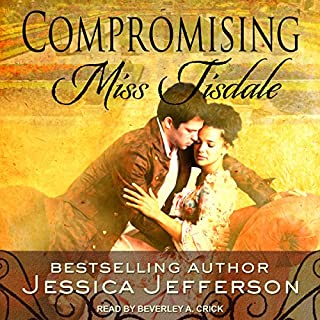 Compromising Miss Tisdale audiobook cover art