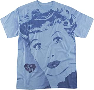 I Love Lucy TV Show All Over Heather T Shirt & Stickers