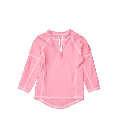 Toobydoo Rashguard UPF 50+ (Infant/Toddler/Little Kids/Big Kids) (Pink) Girl