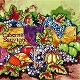 Cabernet Sauvignon - Decorative Ceramic Art Tile - 8'x8' En Vogue