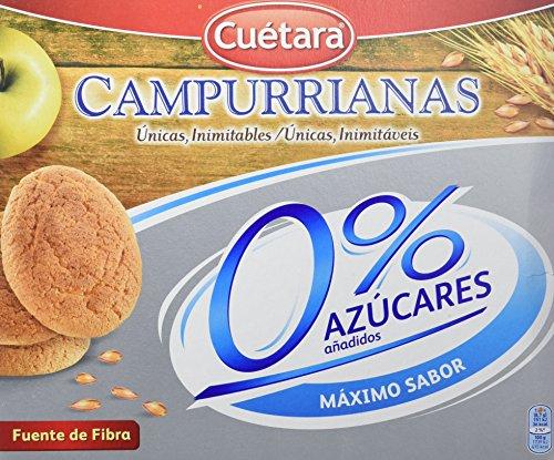 Campurrianas Caja de Galletas sin Azúcar - 400 gr