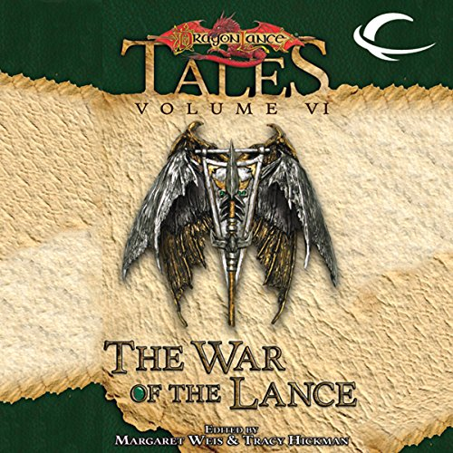 The War of the Lance audiobook cover art