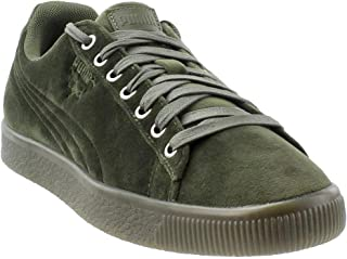 PUMA Mens Clyde Velour Ice Casual Sneakers,