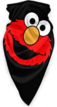 Elmo Windproof Face Mask Breathable Anti UV Neck Warmer Scarf Headwear for Men and Women Black