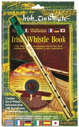 Waltons WM1514Irish Tin Whistle/CD Pack