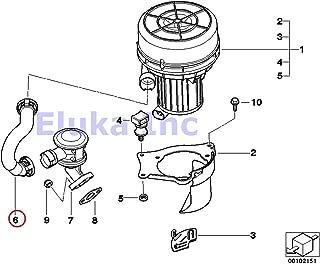 BMW Genuine Secondary Air Injection Hose - Pump To Valve Z4 2.5i Z4 3.0i
