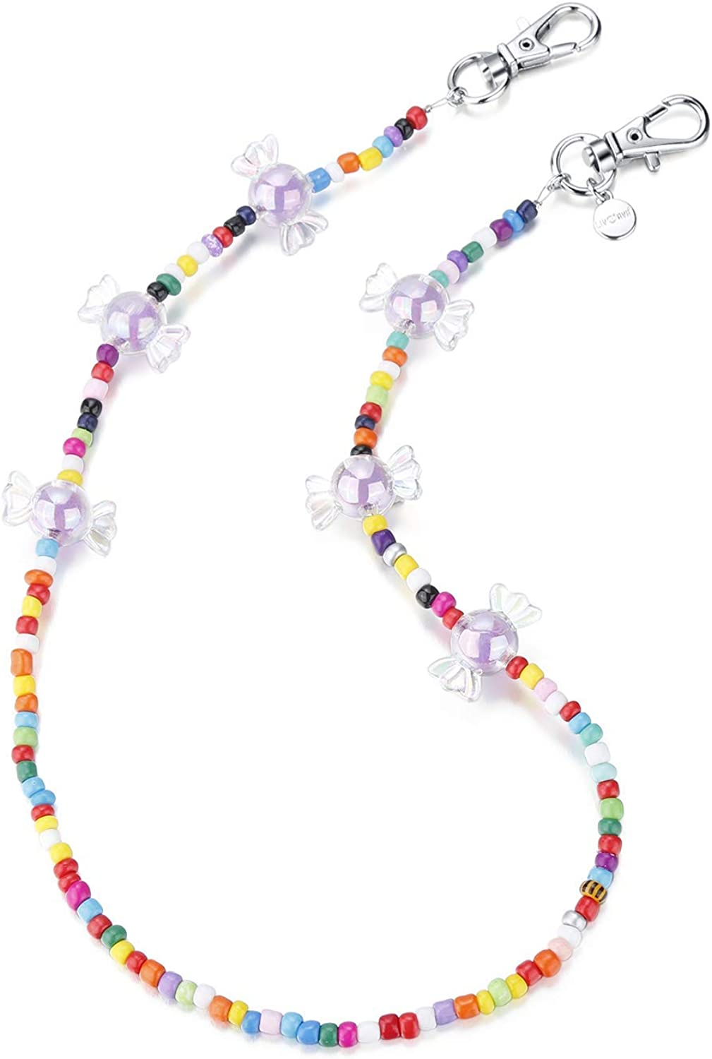 Liv Ava Mask Chain Bead Stylish Eyeglass Necklace Sale special price Topics on TV Colorful