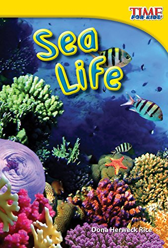 Teacher Created Materials - TIME For Kids Informational Text: Sea Life - Grade 1 - Guided Reading Level F