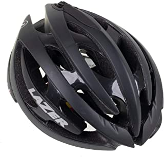 LAZER Genesis Lifebeam Helmet with Heart Rate Monitor: Matte Black MD