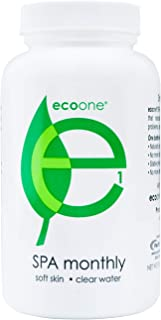 EcoOne | Spa & Hot Tub Conditioner & Cleaner | Naturally Softens Water | No HTH Chlorine Chemicals | Natural, Eco Friendly Spa Care Supplies | Safe For All Skin Types | 1x Monthly Spa Treatment | 8 Oz