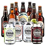 Organic Beer Tasting Mix Stroud Brewery Craft Beer Natural Ingredients Beer Hamper 12 Beer Selection Case