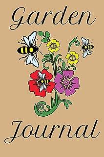 Garden Journal: Garden Journal Lined Notebook 6'x9' 110 Pages
