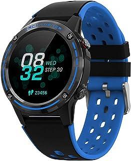LZXMXR Smart Watch, 1.3-inch High-definition Color Screen, Compass Altitude Function, Smart Bluetooth Call, Gps Sports Wat...