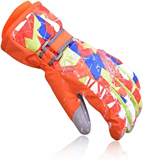 TRIWONDER Ski Gloves, Winter Waterproof Warm Snowboard Snow Skiing Cold Weather Gloves for Kids Men and Women