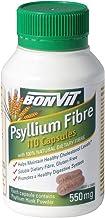 Bonvit 550mg Psyllium Fibre 110 Capsules, 110 count