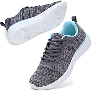 Walking Shoes for Women Lace Up Lightweight Tennis Shoes