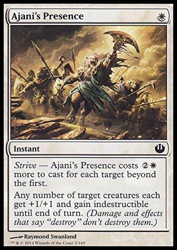 Magic The Gathering - Ajani's Presence - Presencia de Ajani - Journey Into Nyx - Foil