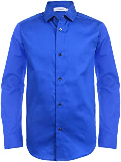 turquoise blue formal shirt
