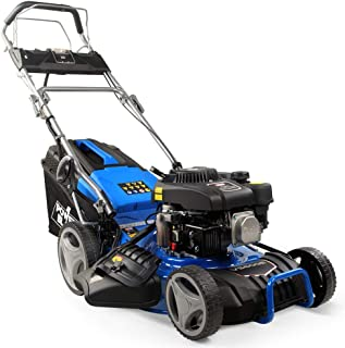"""POWERBLADE VS600e 18"""" 175cc Self-Propelled 4-Stroke 4in1 Petrol Steel Deck Lawnmower, with Push Button Electric Start"""