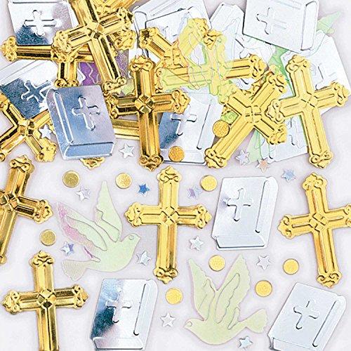amscan 9900854 14 g Confettis métalliques Vont Se Réjouir de Traverse