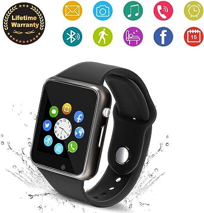 Bluetooth Smart Watch - Wzpiss Smartwatch Touch Screen...