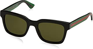 Gucci Fashion Square Sunglasses, GG0001S, 52/21/145