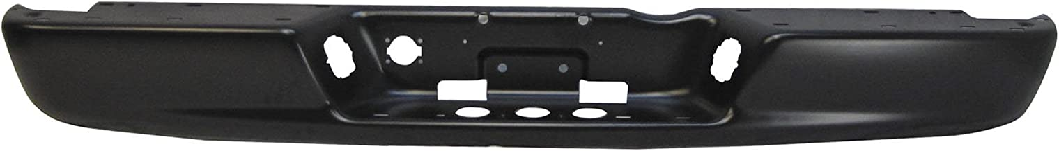 ArtMuseKitsMikash TKY DG40097B Dodge Ram Primed Black Replacement Rear Bumper Bar