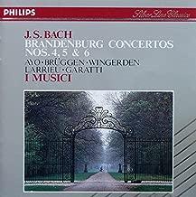 J.S.BACH BRANDENBURG CONCERTOS NOS.4,5&6 J.S.バッハ:ブランデンブルク協奏曲 第4~6番