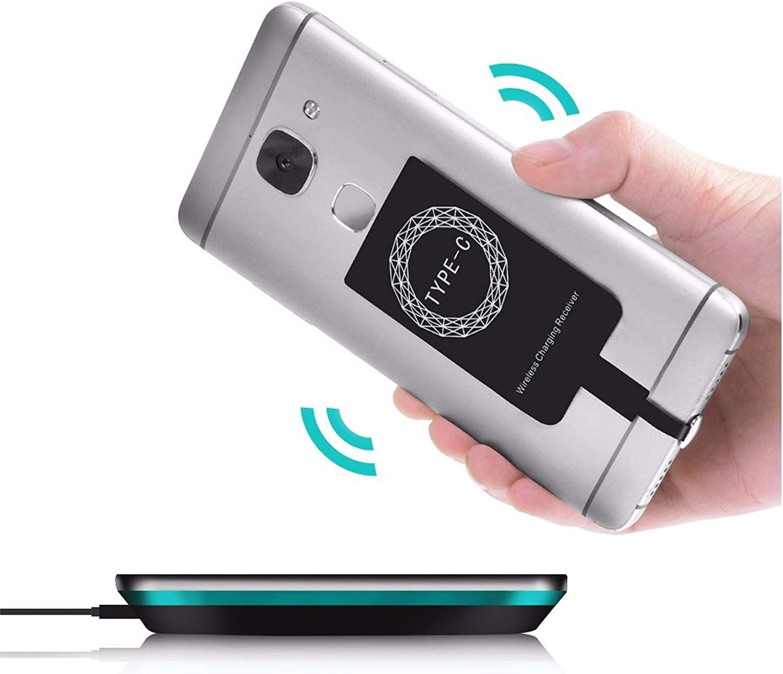 MOELECTRONIX USB TYP C Qi passend für Huawei P20 Lite 20 ...