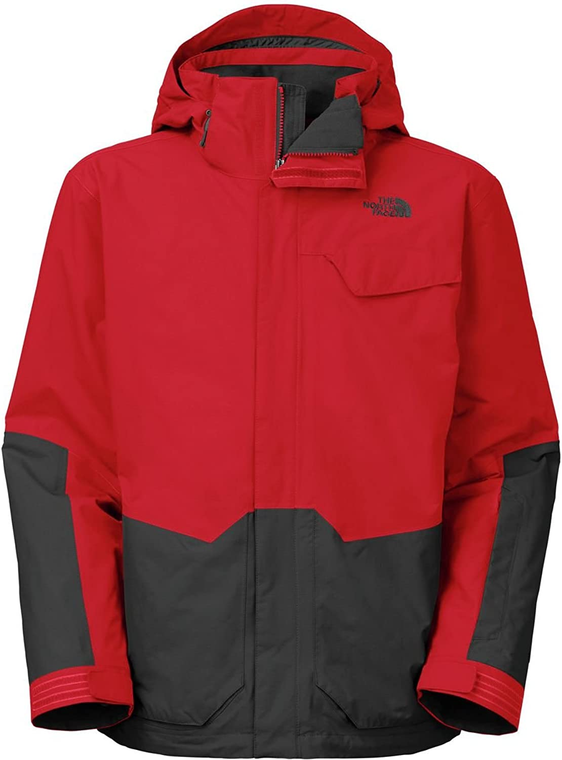 The North Face Marsellus Triclimate Jacket  Men's TNF Red Asphalt Grey, XXL