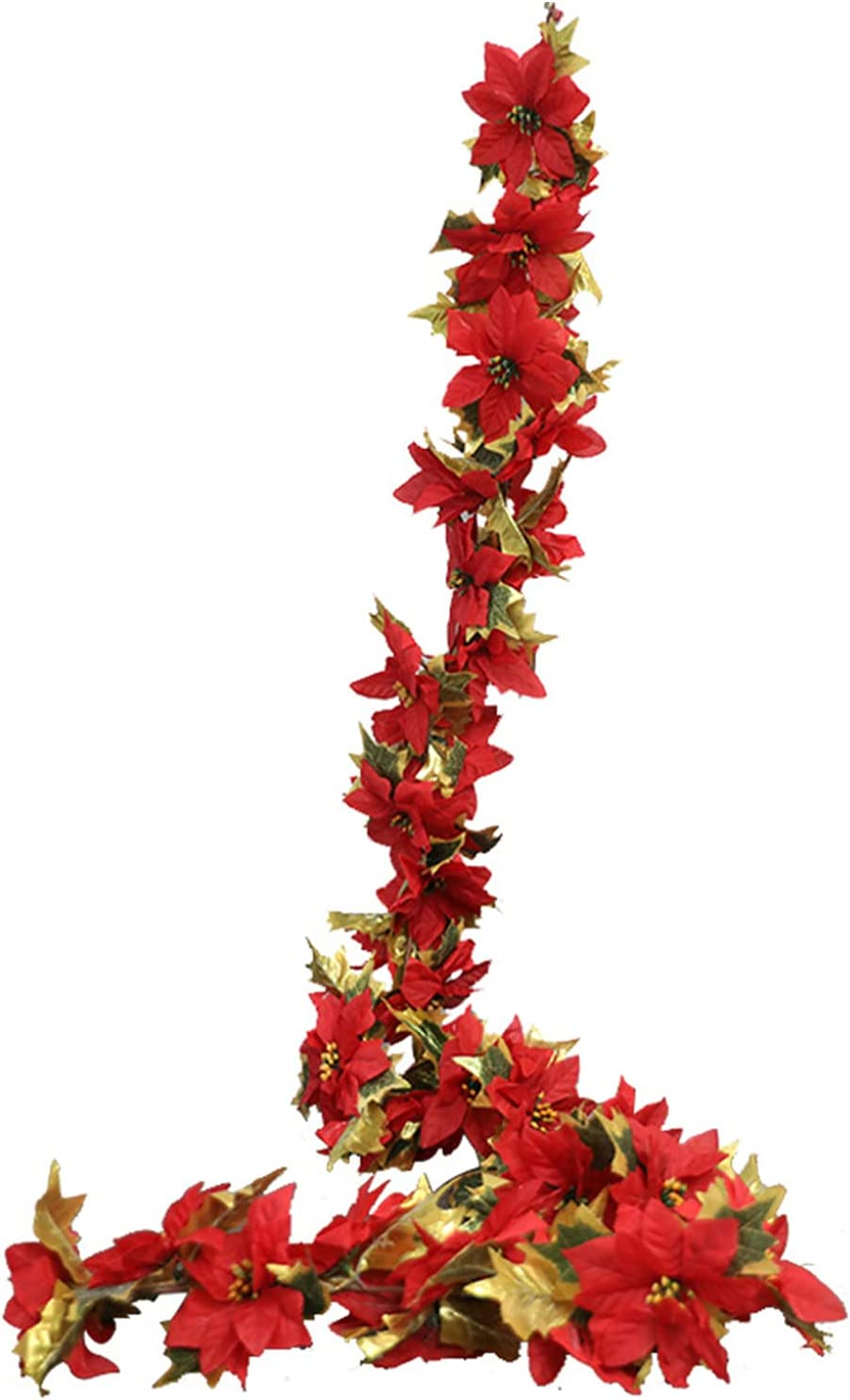 Financial sales sale æ— Christmas Poinsettia Swag Flower with 25% OFF Floral