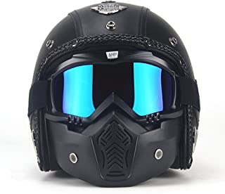 motorcycle helmet aviator