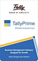 TallyPrime Silver - one software for all your business needs - Accounting, GST, Invoice, Inventory, MIS & more (No CD....