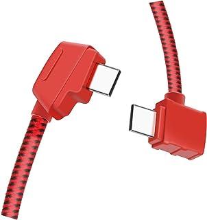 Hanatora Micro-AB to USB-C 8.14 Inch Remote Controller Cable for DJI Mavic Mini/Mavic 2 Pro/Mavic 2 Zoom/Mavic Air/Mavic P...