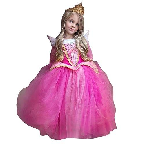 7f193912ba25 Rawdah Vestito Abito per Bambino Ragazza Bambina Principessa Natale Partito  Compleanno Bambini Vestito Carnevale Bambina Abiti