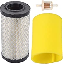 Trustsheer Air Filter Cleaner + Pre Filter for Briggs and Stratton 793569 793685 John Deere GY21055 MIU11511 MUI11513 LA125 D120 Mower Tractor Rotary 12673 Stens 100-929 Bad Boy 063-4026-00