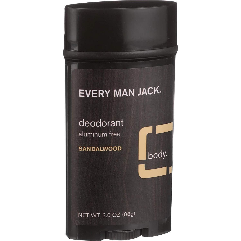 Every Man Jack Max 84% OFF Body Luxury goods Deodorant Free Hel Aluminum - Sandalwood