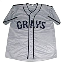 Custom Josh Gibson Homestead Gray's Baseball Jersey Men/Women/Youth S-6XL