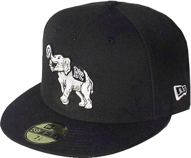 New Era Oakland Athletics Stomper schwarz Weiß Logo Cap 59fifty 5950 Fitted MLB Limited Edition B07NPR5V2Z  Moderne Technologie