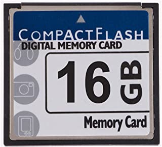 FengShengDa 16GB Compact Flash Memory Card Speed Up To 50MB/s, Frustration-Free Packaging- SDCFHS-016G-AFFP (16G)