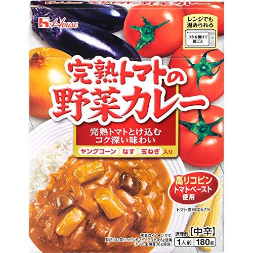 ハウス 完熟トマトの野菜カレー 180g