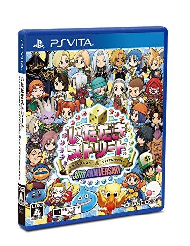 Itadaki Street Dragon Quest & Final Fantasy 30th Anniversary Itadaki Street Dragon Quest & Final Fantasy 30th Anniversary PS Vita SONY PLAYSTATION JAPANESE VERSION [video game]