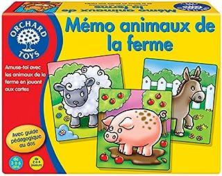 لعبة ذاكرة حيوانات المزرعة بستان تويز