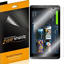 (3 Pack) Supershieldz for Nvidia Shield Tablet and Nvidia Shield Tablet K1 Screen Protector, High Definition Clear Shield (PET)