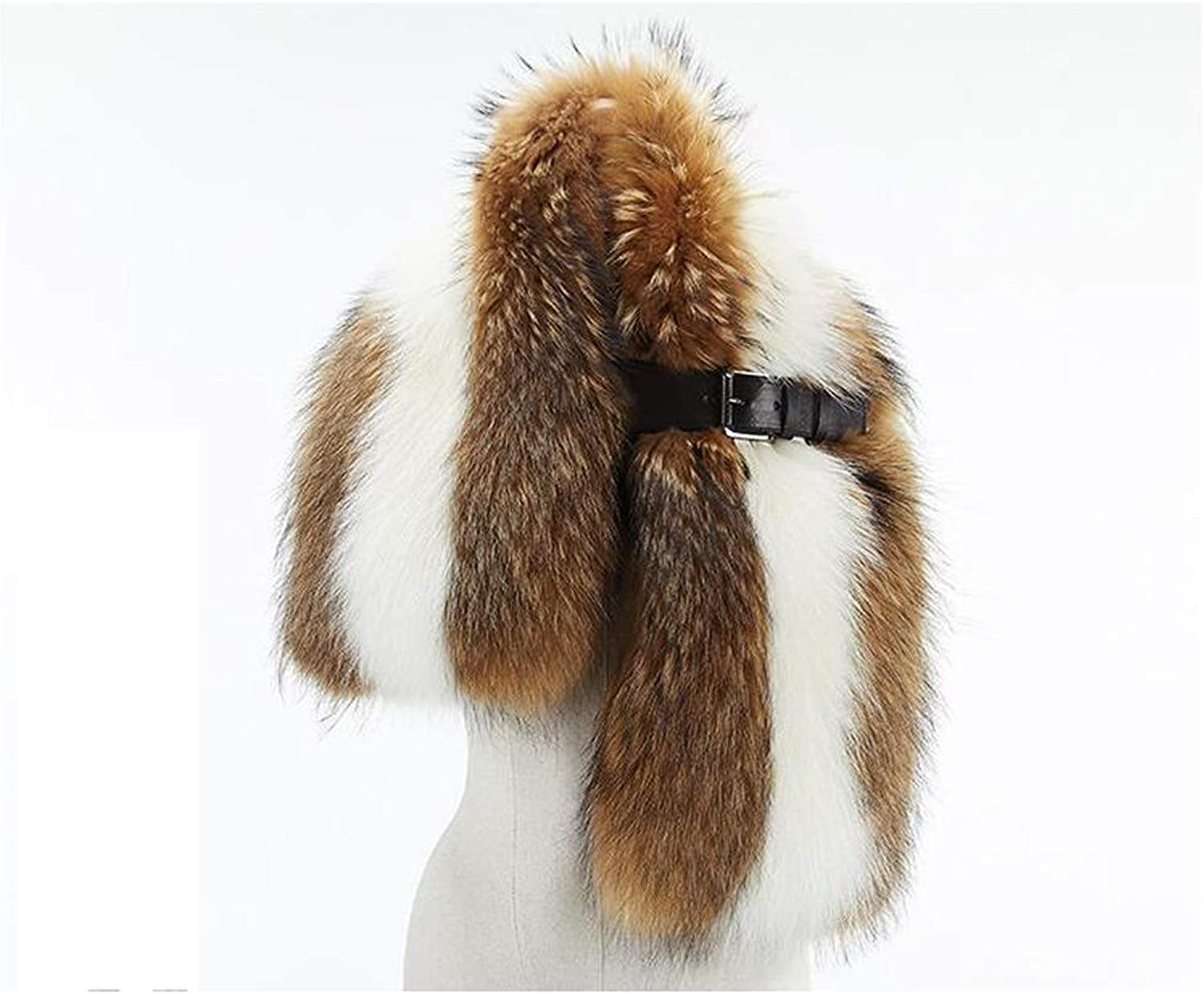 AchangScarf Fur Scarf Female Winter New Korean Version of The Shawl Wild Warm Thickening (Size   A)