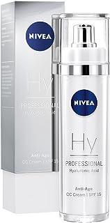 NIVEA PROFESSIONAL Ácido hialurónico CC Cream FP15 crema facial antiedad crema antiarrugas con ácido hialurónico para hi...